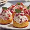 Scones med jordbærcreme