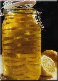 Oliemarinerede citroner