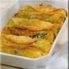 Omeletruller med spinat og ost