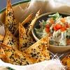 Guacamole med sprøde sesamchips